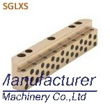 SGLXS L oilless bushing,SGLXS L shaped slide guide,oilless slide plate pad