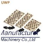 UWP oiles slide plate, 50SP2,500SP bronze slide bearing pad