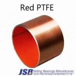 Red PTFE SF-1 DU Oilless composite Sliding Self Lubricating Bearing Bushing