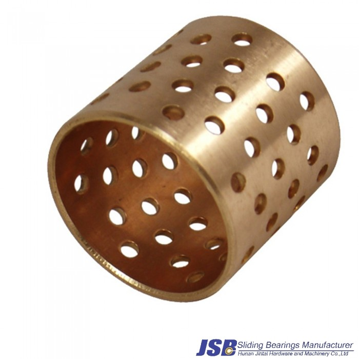 FB092 Wrapped Bronze Bearings are made completely of bronze. They are particularly suitable for applications, which must be re-l