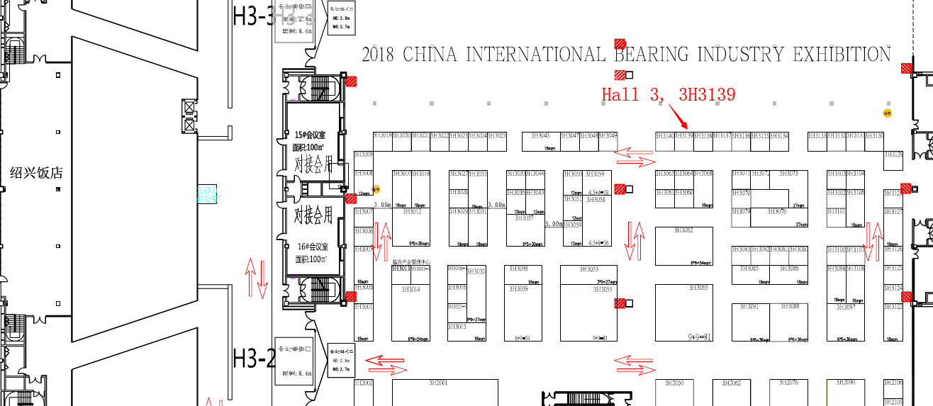 China International Bearing and Industry Exhibition Location